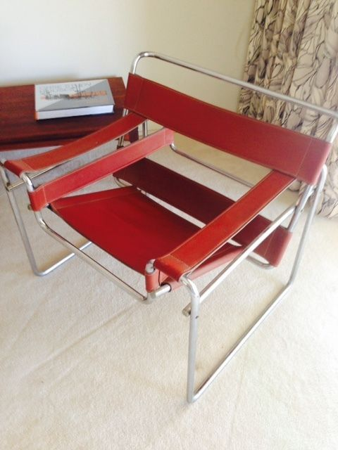 pictures of furniture styles. beautiful pictures vintage midcentury wassily marcel breuer style red leather chair intended pictures of furniture styles r