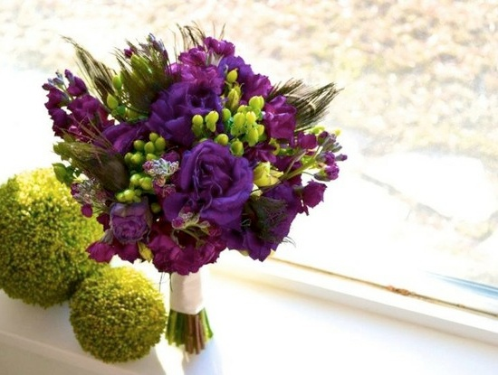 Purple And Green Wedding Theme Ideas Trends Galleries