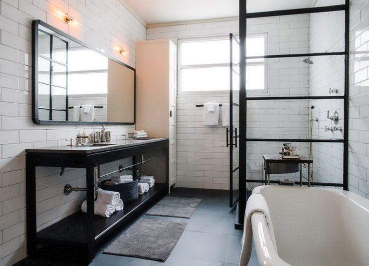 die besten 25 offene duschen ideen auf pinterest offene. Black Bedroom Furniture Sets. Home Design Ideas