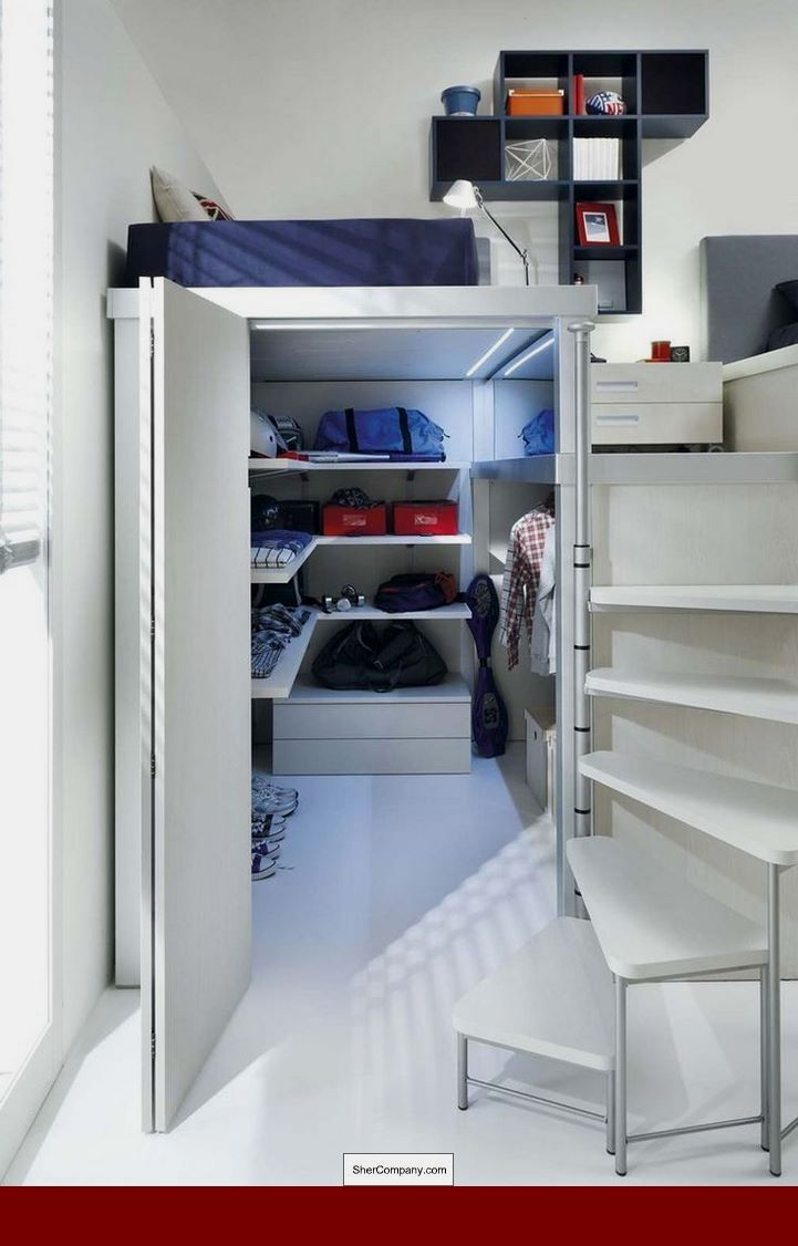 Built in loft bed ideas  Common Bedroom Decorating Mistakes To Avoid  CHECK THE PIC for