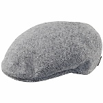 """Perfect for fall and winter and very comfortable, says Jeff S. about the Borsalino wool/cashmere blend ivy cap """"Vesuvius."""" It's an elegant satin-lined cap with stitched down brim from the best hat maker in the business. Item Number B12033."""