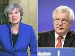 Theresa May faced a new Brexit rift with David Davis last night after claims that he has raised private doubts that the UK is certain to leave the EU. The Prime Minister used her official New Year message to restate her determination to deliver on the result of the 2016 referendum vote.