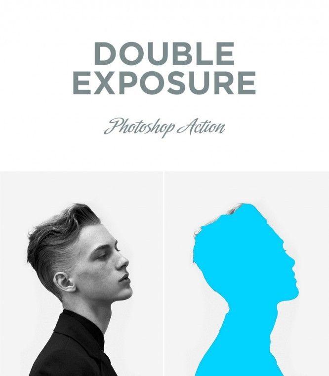 22 урока и экшена для создания эффекта двойной экспозиции ...