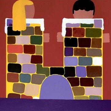 Art poster by Kristian Devantier - 'The wrecked castle'