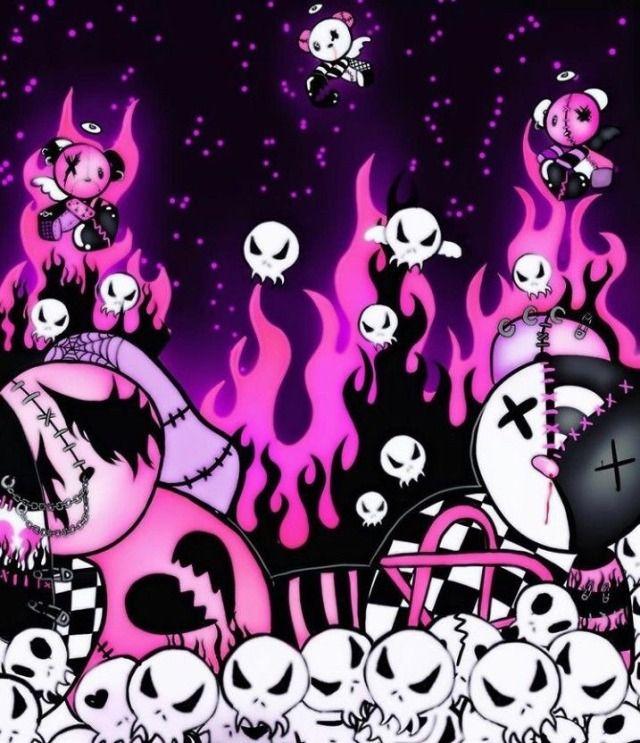 Angel Of Darkness Goth Wallpaper Emo Wallpaper Emo Art