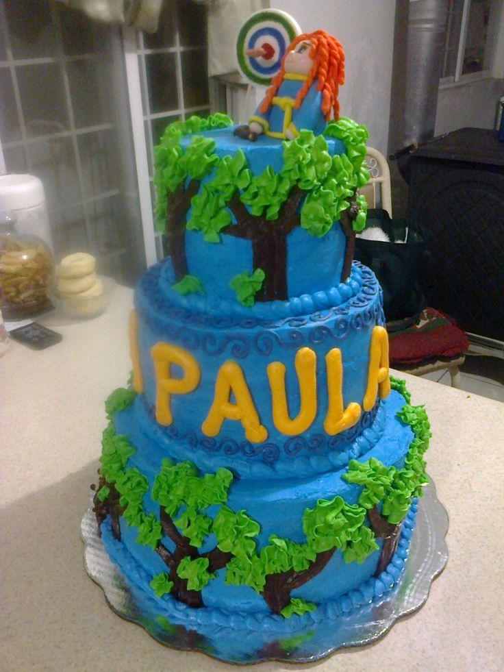 pastel valiente cumpleaños
