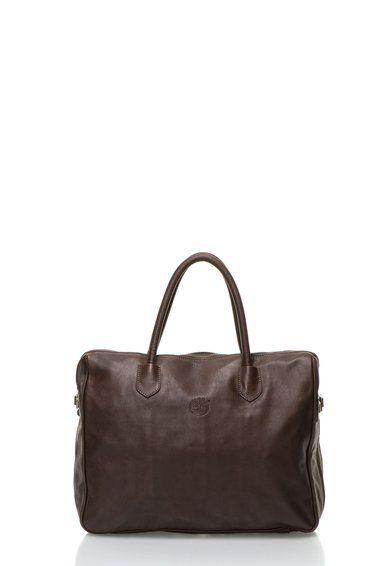 Tmavohnedá kožená taška z Timberland a mnoho ďalších podobných produktov na Fashion Days