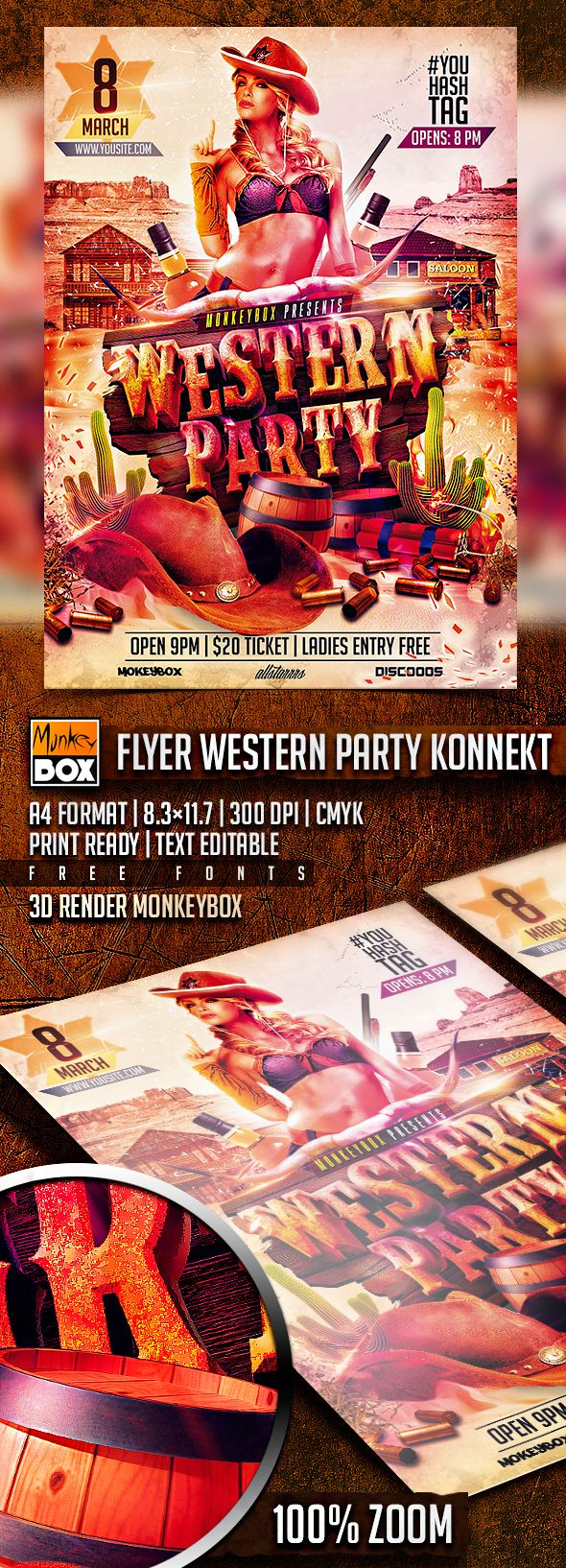 37 best Flyers & Posters images on Pinterest | Flyer template ...