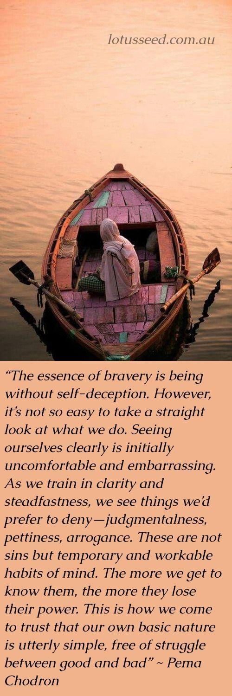 Pema Chodron - Buddhist Zen quotes by www.lotusseed.com.au