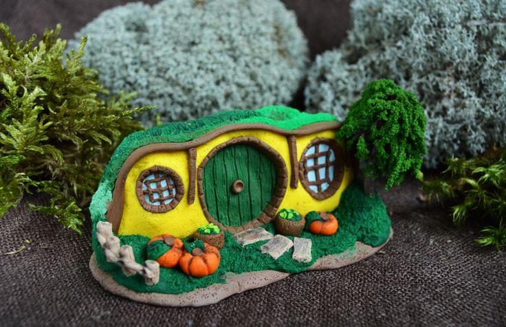 Hobbit gat miniatuur Fairy huis LOTR geïnspireerde fanart