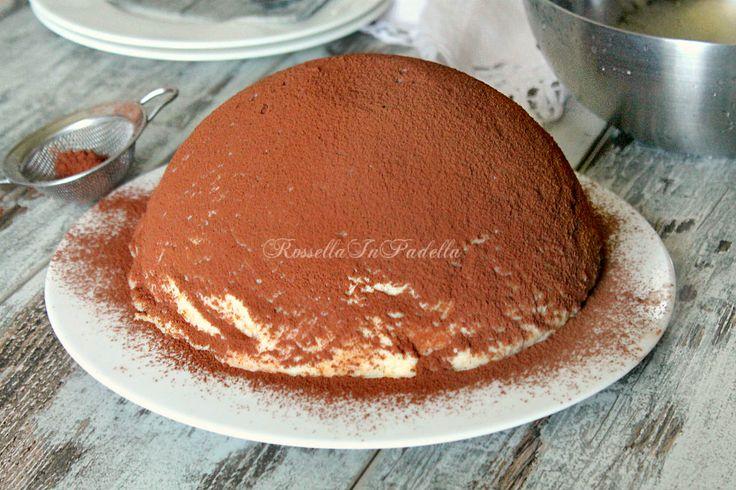 Zuccotto tiramisu' con base wafer