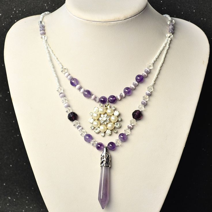 Like the gemstone flower pendant necklace?See more details from Pandahall.com