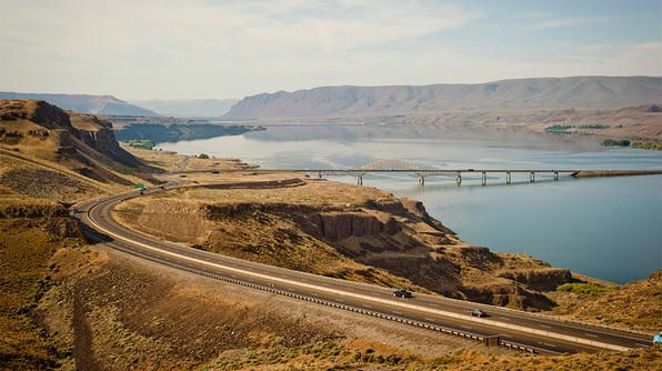 """Built specifically for sightseeing drivers, the <a href=""""http://www.travelchannel.com/interests/road-trips/articles/columbia-river-highway"""">Historic Columbia River Highway</a> is the first scenic highway in the US designated as a national historic landmark. One of the best times of year to drive this scenic road is in spring, when waterfalls are at their maximum flow and wildflowers are in bloom."""