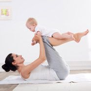 1. Cardio stroller intervals Aim for 10 to 15 minutes of cardio daily -- pushing ba...