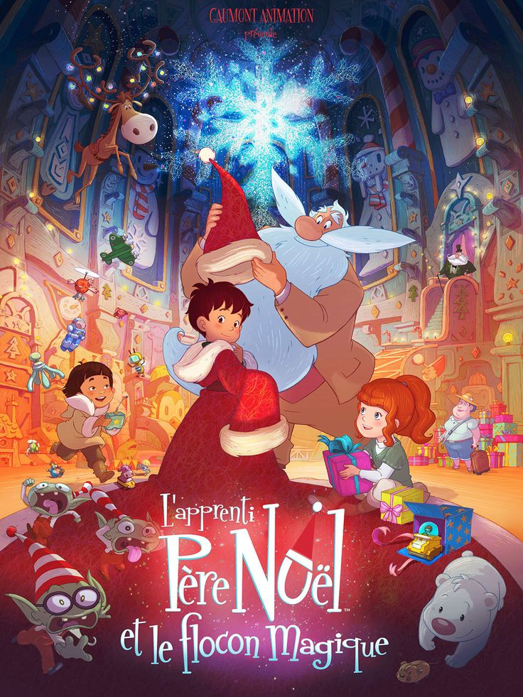 L'apprenti du Père Noël (Santa's Apprentice): It's a story of a Santa, who doesn't want to retire but, rules are rules; and he has to train someone to replace him. This and more #French films for you to enjoy cold winter nights of December when you visit this link : https://www.talkinfrench.com/french-movies-christmas/