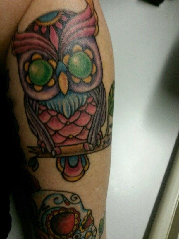 Gigi's Owl #owltattoo