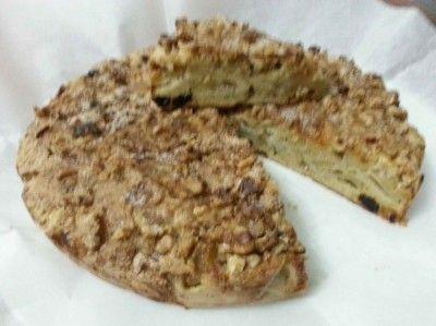 Яблочный пирог на Песах