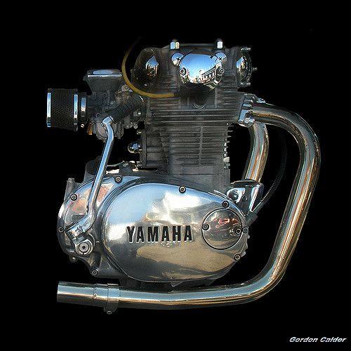 No 63 CLASSIC YAMAHA XS650 MOTORCYCLE ENGINE