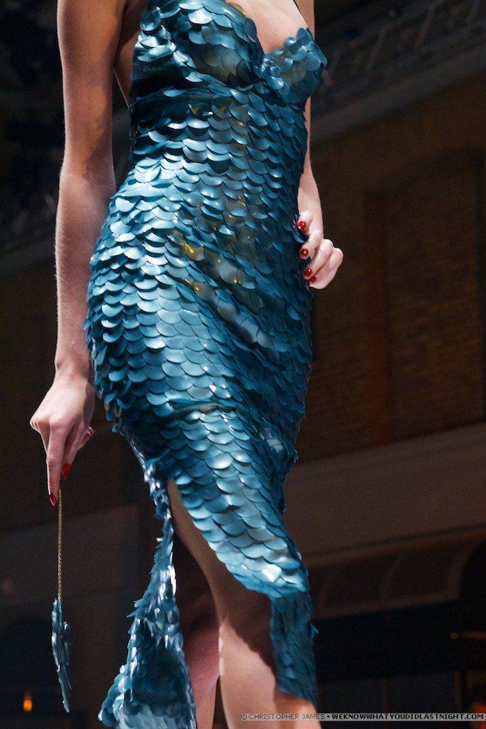 I would feel like a mermaid