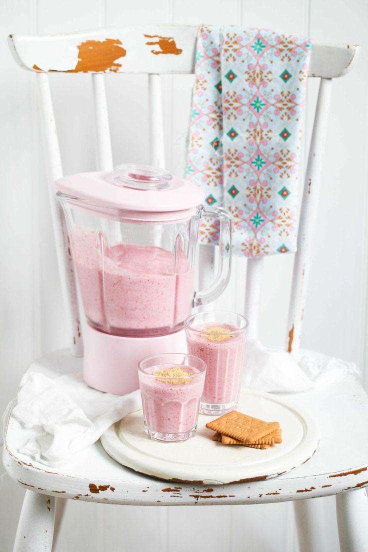 Raspberry Banana Cheesecake Smoothie | Zucker, Zimt und Liebe