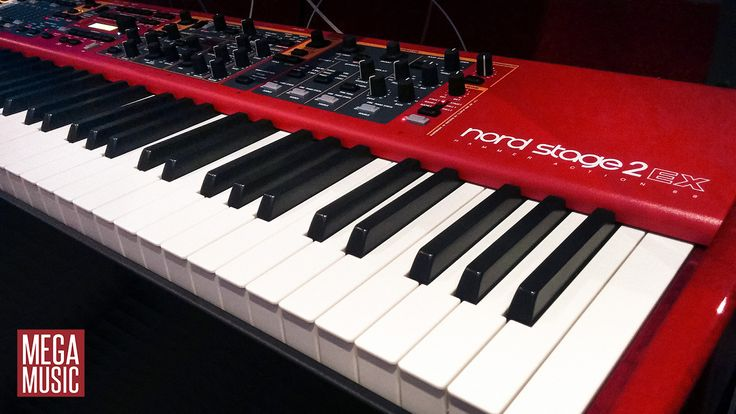 The incredible Nord Stage 2 EX 88 #nord #nordkeyboards #nordstage #stagepiano #megamusic #megamusicwangara