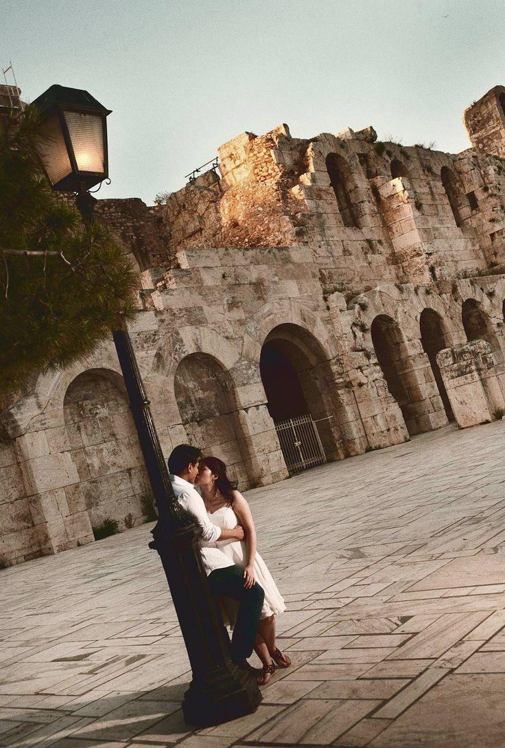 Engagement shoot in Athens #engagementathens #portraitsessionathens #Athens