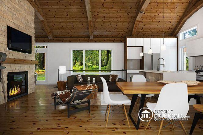 1000 id es sur le th me modele maison plain pied sur pinterest for Modele plafond maison