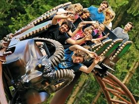 The Ruhpolding Leisure Park in the Chiemsee/Chiemgau region has not only a wealth of attractions but also an entire area dedicated to myths and fairytales. 70 % of all attractions are under cover.