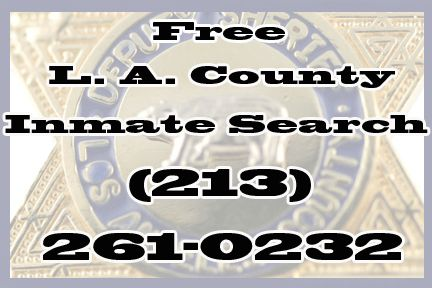LA County Jail Inmate Search in Los Angeles, CA - YellowBot