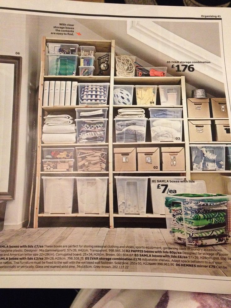 ikea samla ivar storage solutions storage pinterest. Black Bedroom Furniture Sets. Home Design Ideas