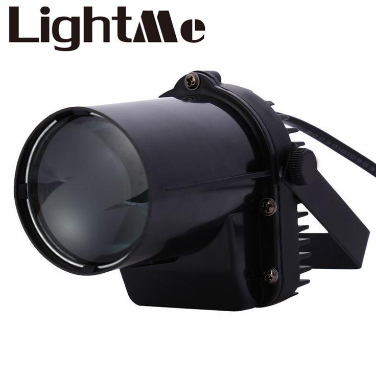2016 Nouveau AC 110-240 V 3 W 200-220LM LED Spot Lumière Monté Pinspot stade Faisceau Lampe Idéal Pour Une Utilisation en Intérieur Très Utilisé Dans Disco Clubs