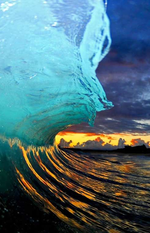 So Many Beautiful Waves The Colors Of Shorebreak Just