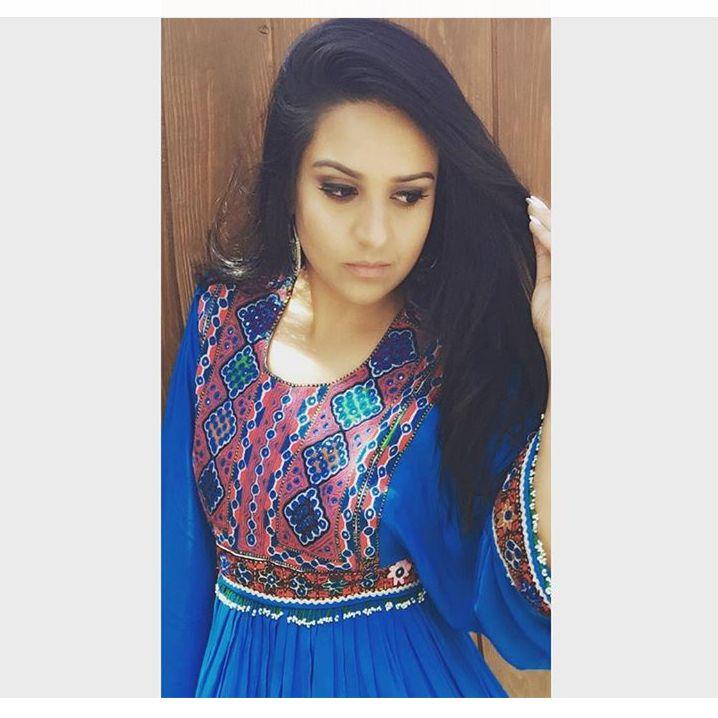 Blue Kuchi Afghan Dress http://www.zarinas.com/