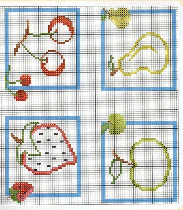 412 best images about punto de cruz para cocina on - Punto de cruz cocina ...