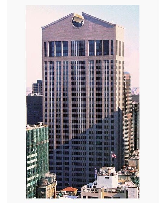 Edificio de la AT&T, New York Arq: Philip Johnson y John Burgee