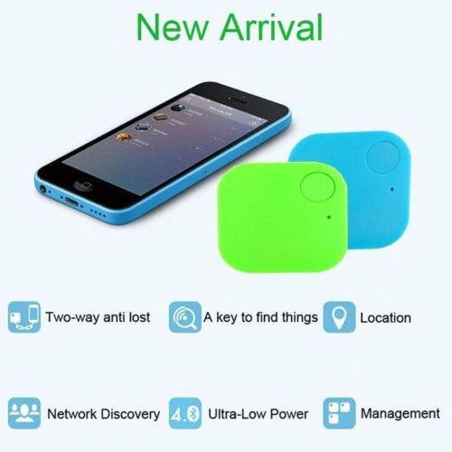 Bluetooth SMART FINDER  Tracer-Child-Pet-GPS-Locator-Alarm-Wallet-  KEY TRACKER    e-bay USD 2,69  (HUF 720)