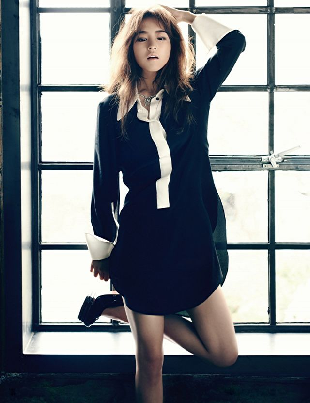Park Bo-young // Harper's Bazaar Korea // May 2013