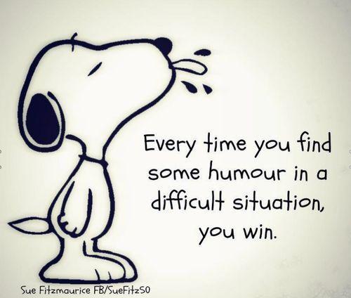 Snoopy's philosophy