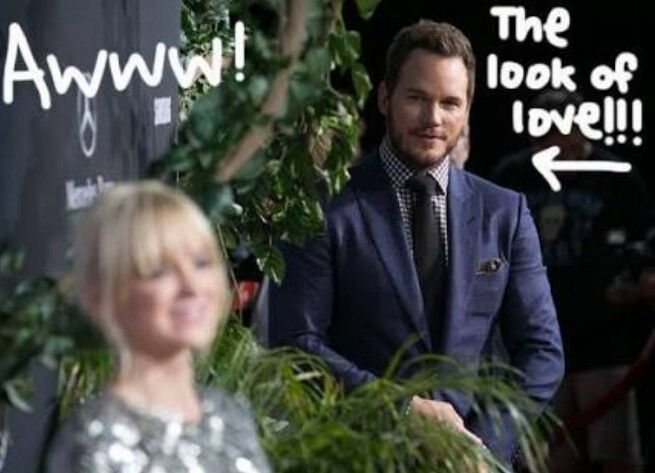 Anna Faris and Chris Pratt❤❤❤