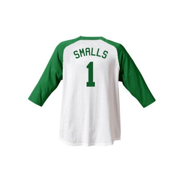 "Scott "" Scotty "" Smalls #1 Sandlot Jersey T-Shirt Baseball Movie... ($24) ❤ liked on Polyvore featuring white baseball jersey, cotton baseball jersey, cotton jersey, white jersey and baseball jerseys"