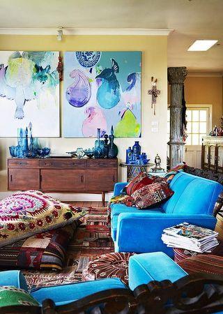 Wall art, living room