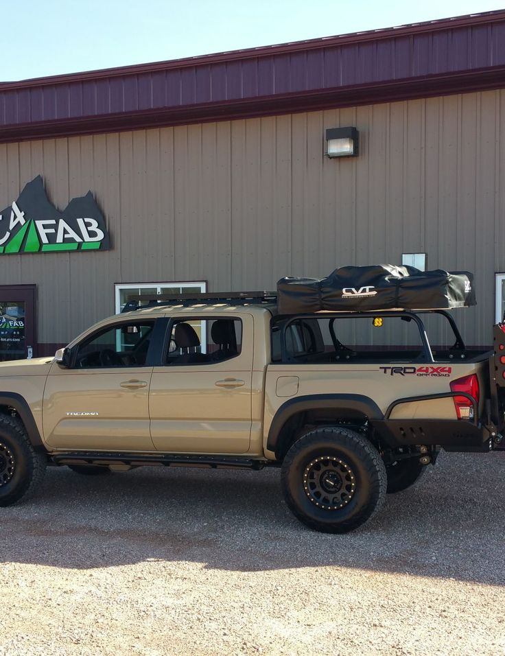c4 fab 2016 tacoma full height bed rack 8