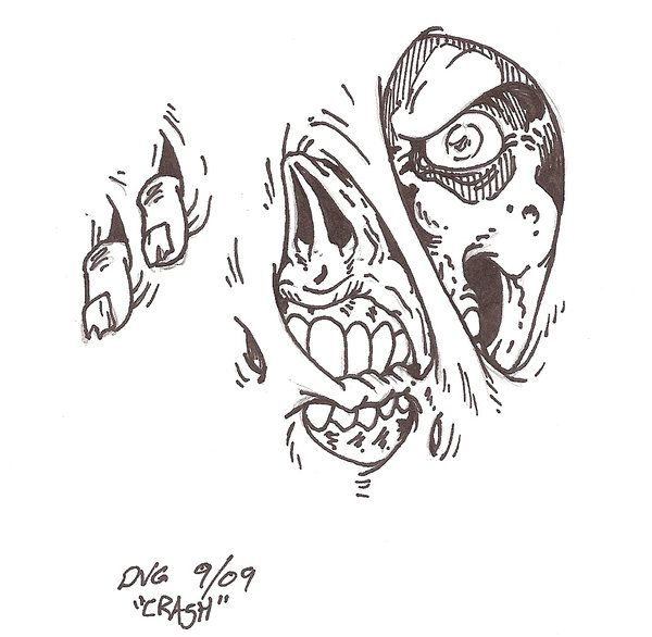 Tattoo Sketches and Drawings | Zombie Tattoo design by Crash2014 on deviantART