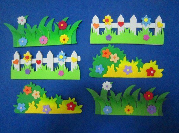 Nursery decoration 3d Wicket Wall Stickers  kid classroom environment decorate