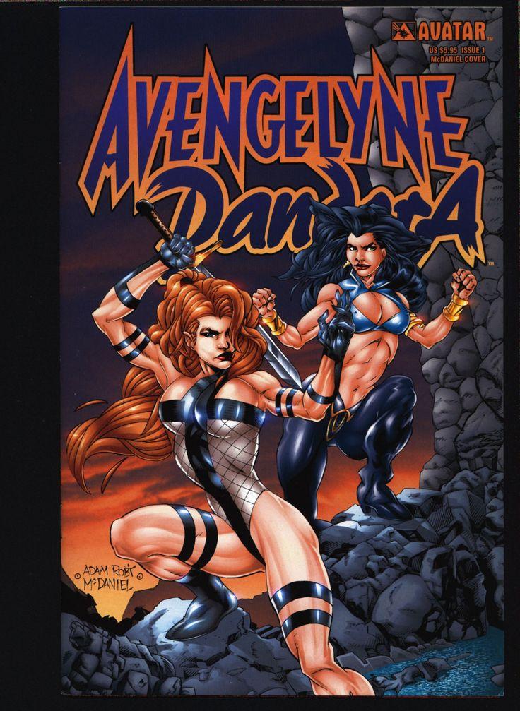 Rob Liefeld's Avengelyne Pandora #1 McDaniel cover William A. Christensen, Mark Selfert, Rick Lyon, Sexy Pin-Up Atlantis Fantasy Heroine