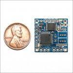 NanoDuino-NS: Tiny Arduino®-compatible Nano Sumo Robot Controller