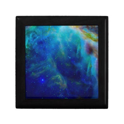 Beautiful Orion Nebula jewelry gift box