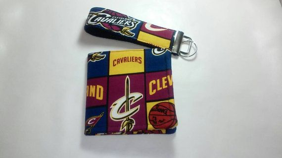 Basketball themed wallet and key chain for Men by DesignsbyCristal