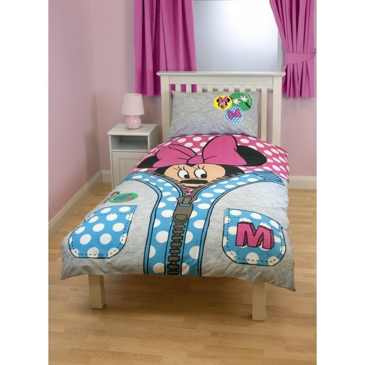 Finest parure de lit rversible minnie mouse disney with for Poster xxl chambre
