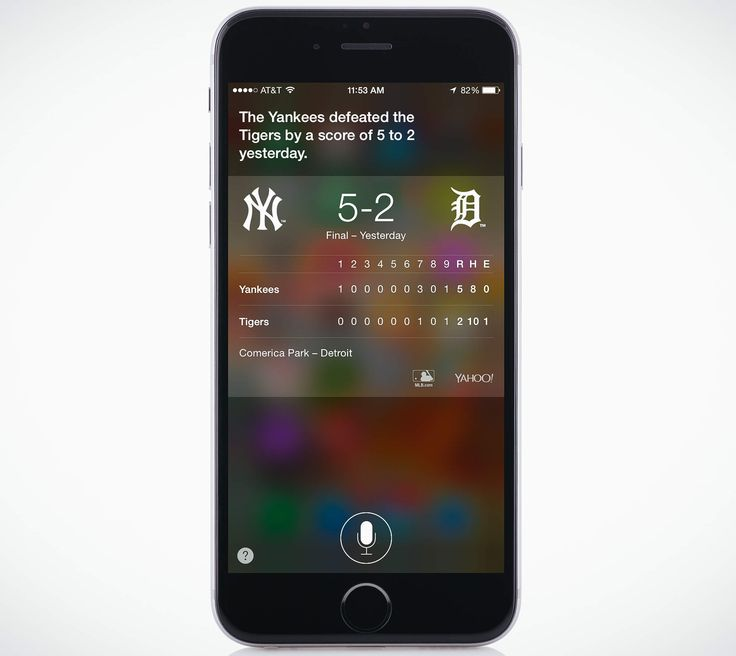 """Give you sports scores and facts: Did you miss the big game? Do you need to know exactly how many sports Russell Westbrook scored last night, lest your bookie break your collarbone? A simple query directed at Siri, """"Who won the Yankees game last night?"""" will tell you what you need to know. You could ask who won the Mets game—but it's almost certainly the other team."""